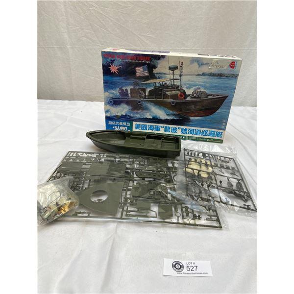 US Navy Patrol Boat River ( Pibber) Model in Box