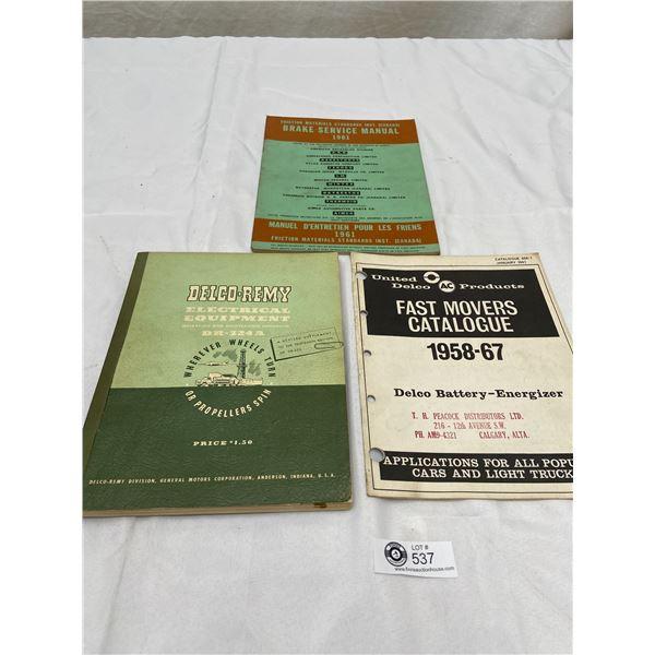 1961 Delco-Remy Automotive Manuals