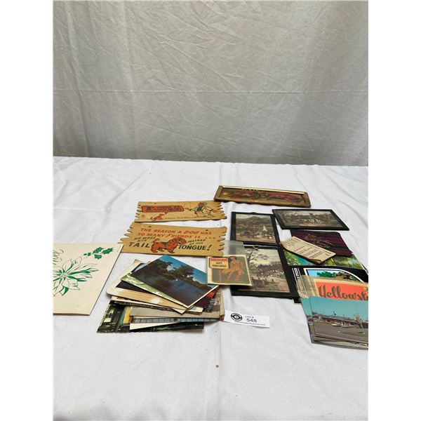 Nice Lot of Vintage Postcards and Photos
