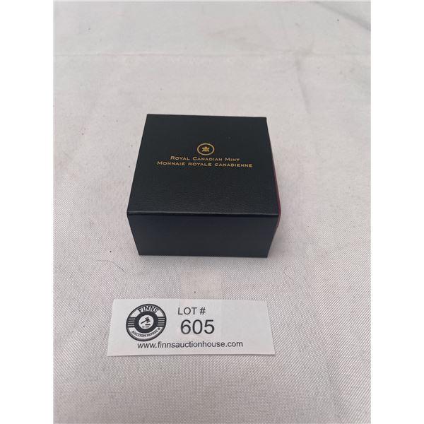2013 $25 Silver Coin. Canada and Allegory in Original Box