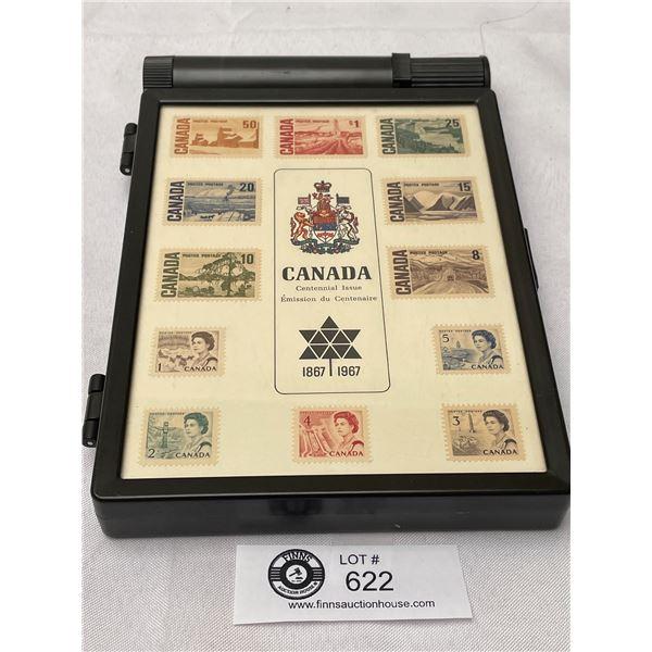 1967 Canada Commemorative Stamp Collection Box