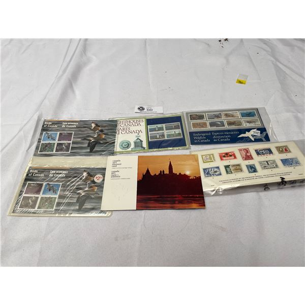 Nice Lot of Canadian Stamps Brids of Canada , Lighthouses of Canada Etc