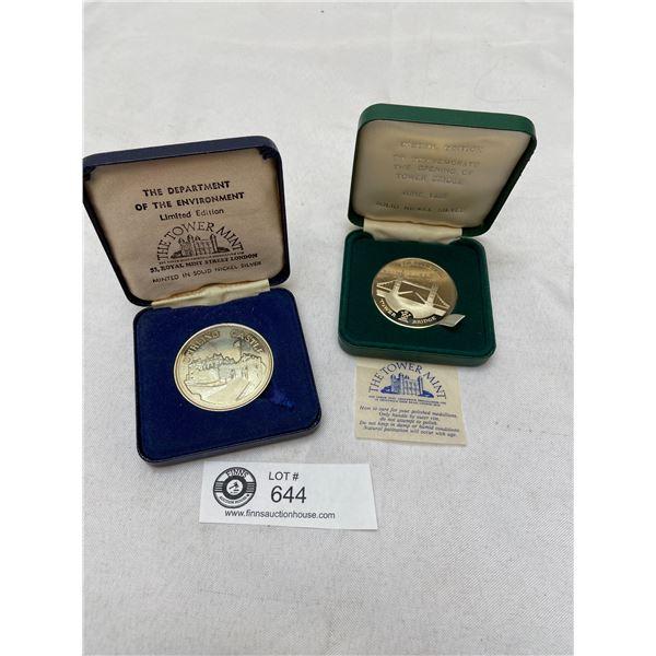 2002 Canada Proof Sterling Silver Dollar in Original Case