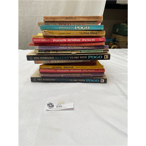 Lot of 16 1940's-50's The Pogo Books