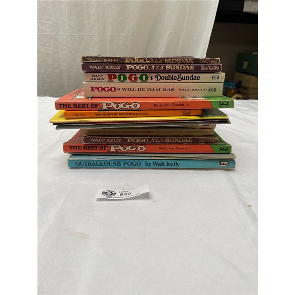 Lot of 16 1960's-70's & 80's The Pogo Books