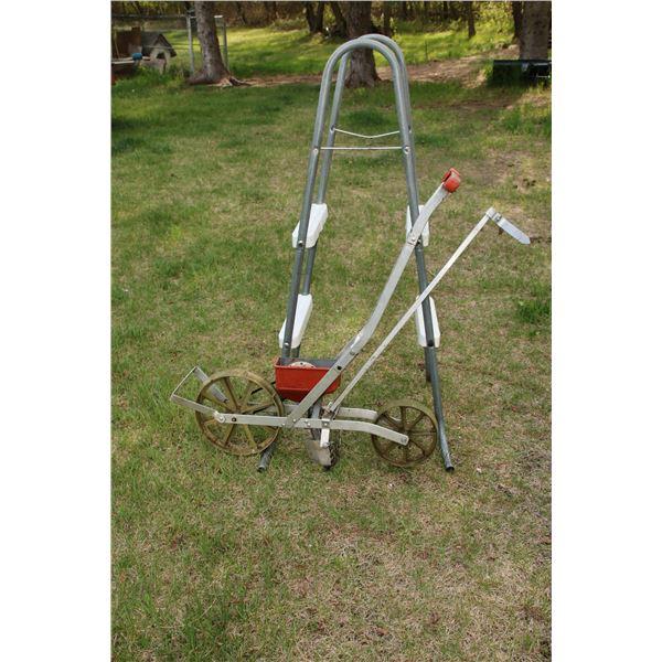 pool ladder/ seed drill