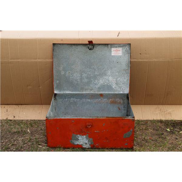 galvanized tool box
