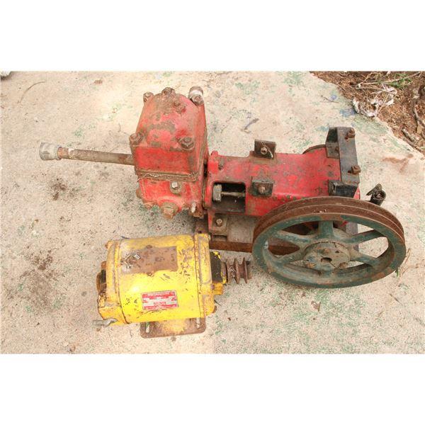 electric motor/ pressure pump, not working