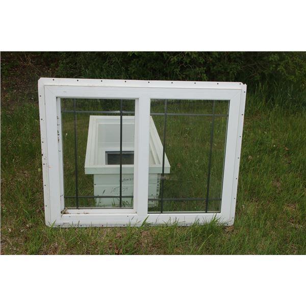 "double pane poly window 2""   39 1/2"" x 29 1/2"""