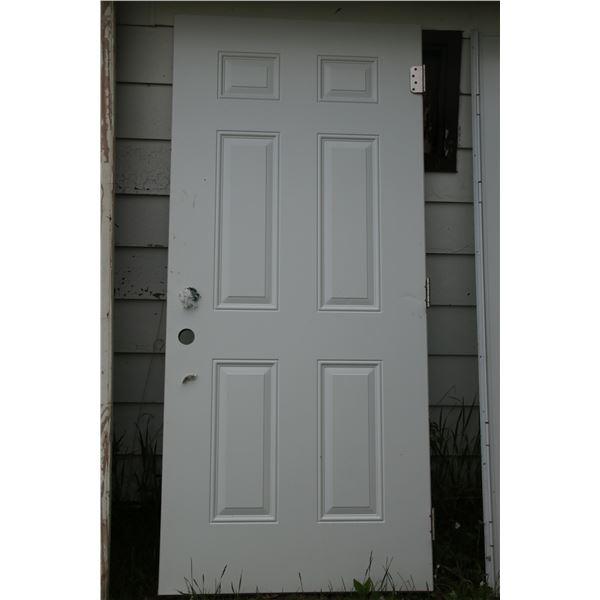 """new 2"""" steel exterior door 36"""" x 79"""""""