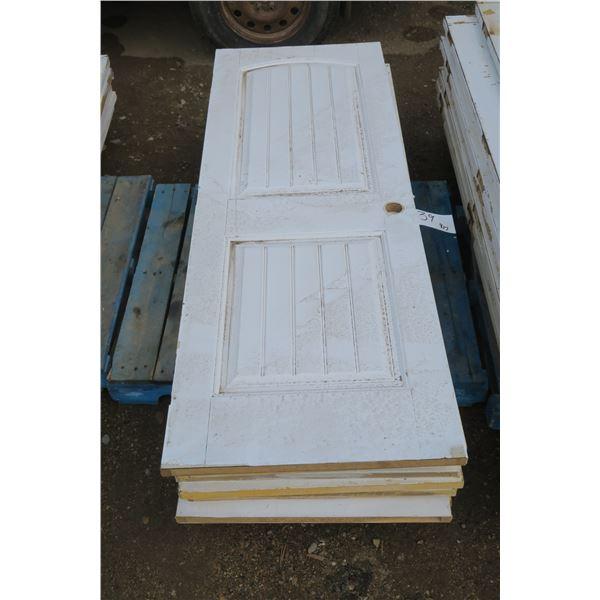 Pallet Of Wooden Doors