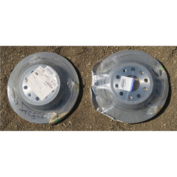 2 New Rotors for Dodge 2500