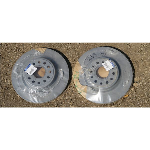3 New Rotors for Dodge 3500