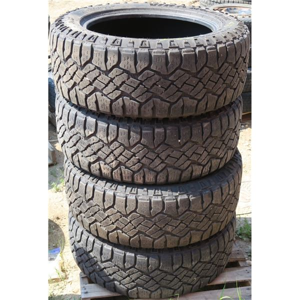 275/55/20 Wrangler Duratrac Set of 4 Tires