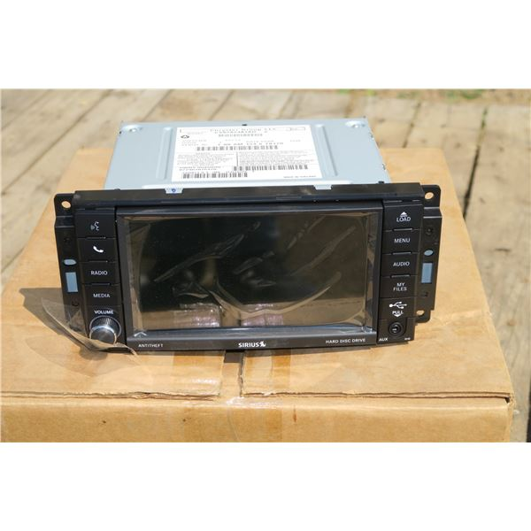 New Chrysler Touch Screen Stereo Deck