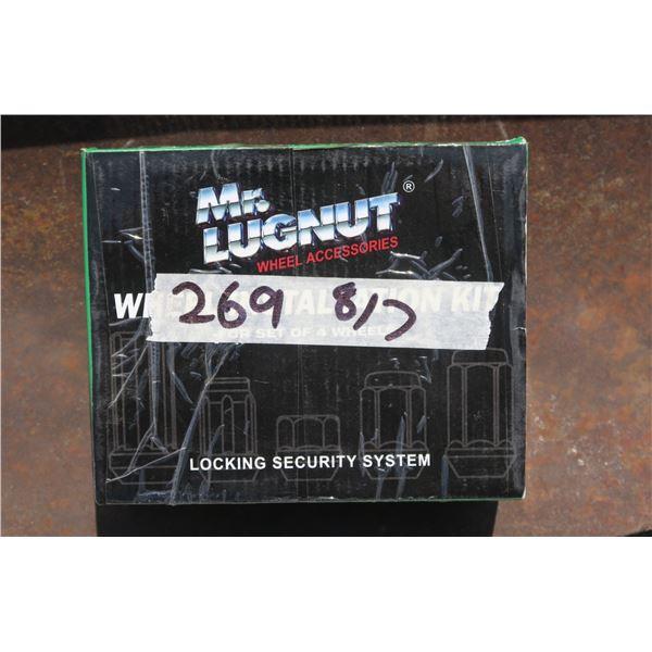 Box of Lug Nuts
