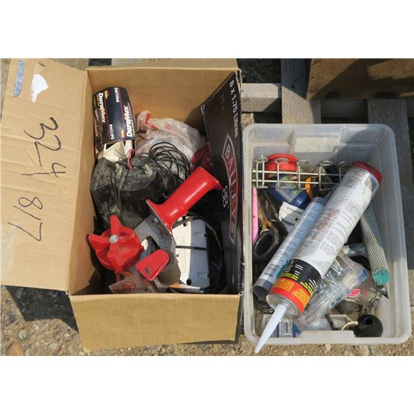 Lot of Misc. Electrical Supplies + Misc.
