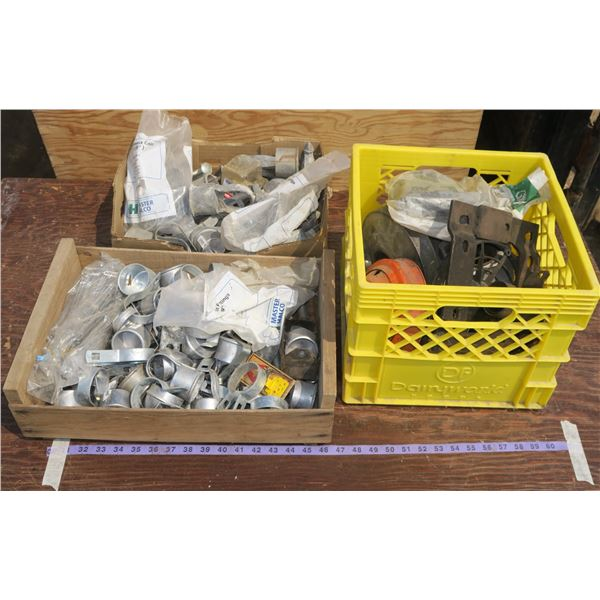 Lot of Fencing Parts + Lawnmower Parts