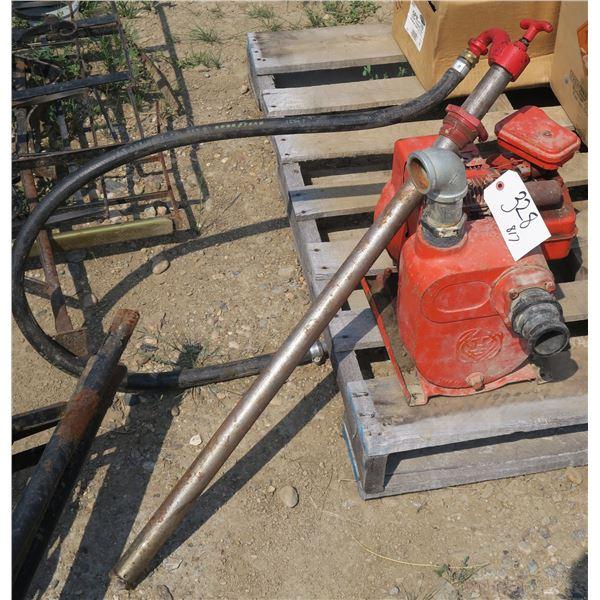 Water Pump + Hand Pump