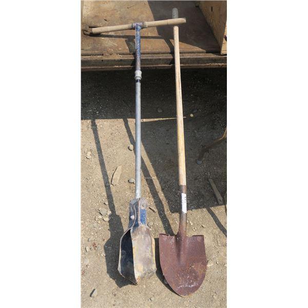 Post Auger + Shovel