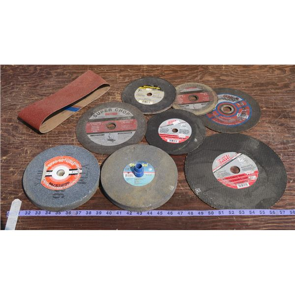 Lot of Misc. Cut-off + Grinding Wheels