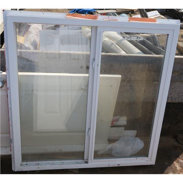 "Sliding Window 50""×50"""