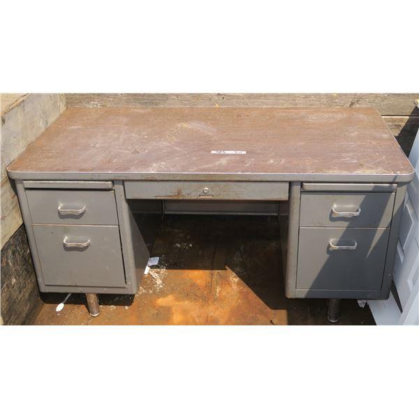 "Heavy Metal Desk 60""×29""×30"""