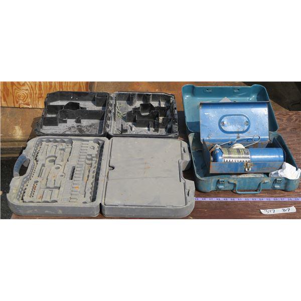 3 Empty Tool Cases