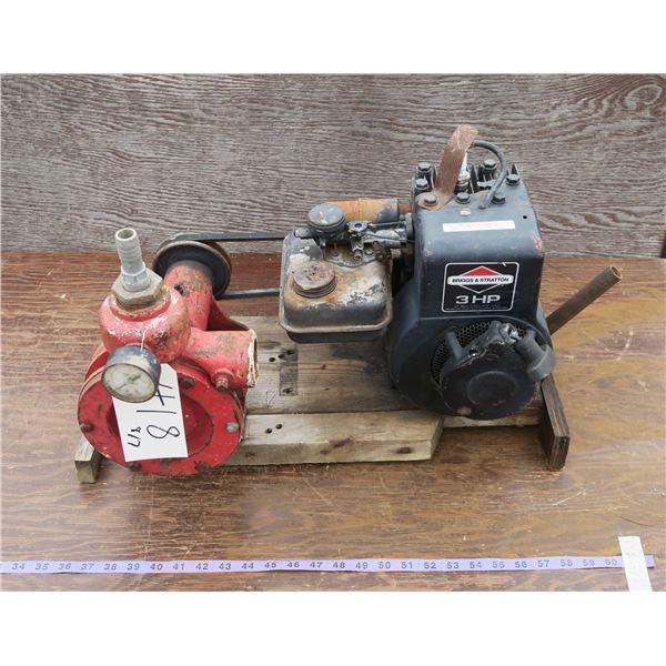 3HP Water Pump - Briggs & Stratton