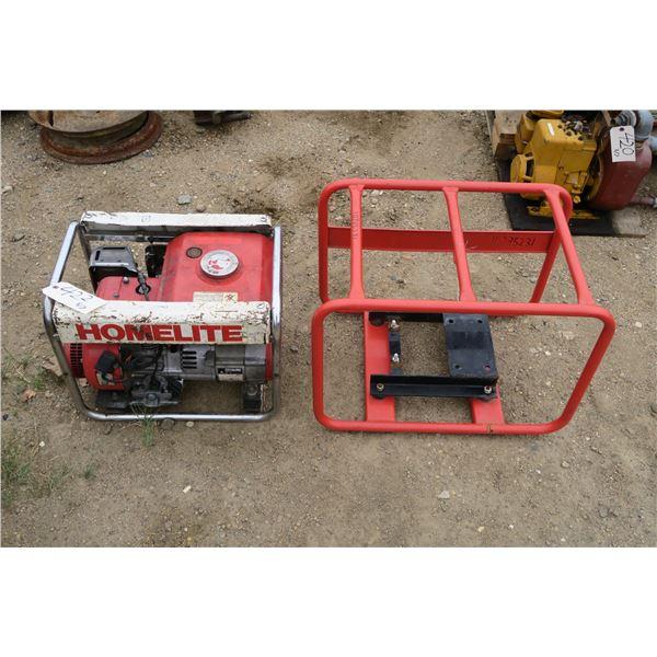 Homelite Generator + Cage