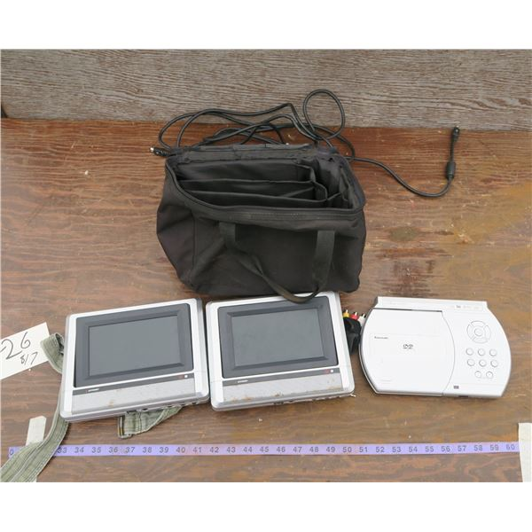 Lot of Portable DVD Players/Headrest DVD Players