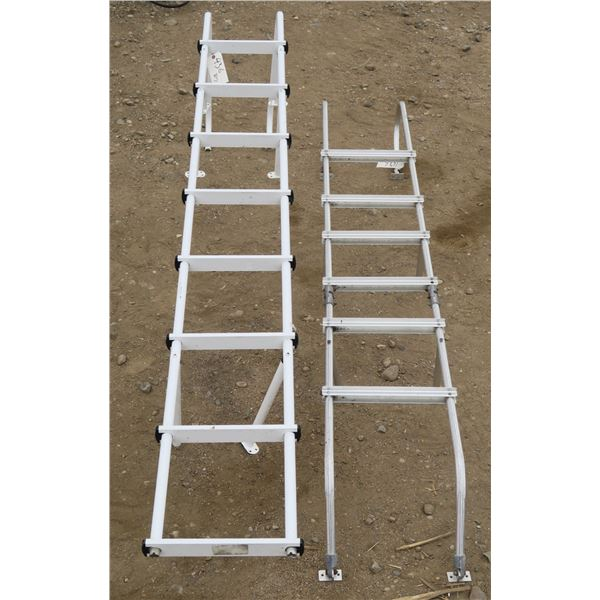 Lot of 2 RV Ladders