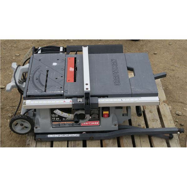 """Craftsman 10"""" Table Saw (Not working)"""
