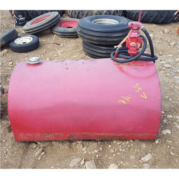 100 ? Gal Slip Tank With Pump