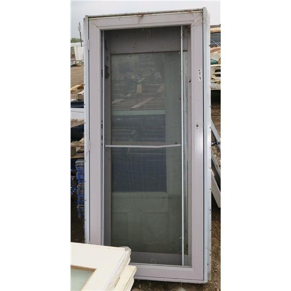 Door + Frame + Screen Door