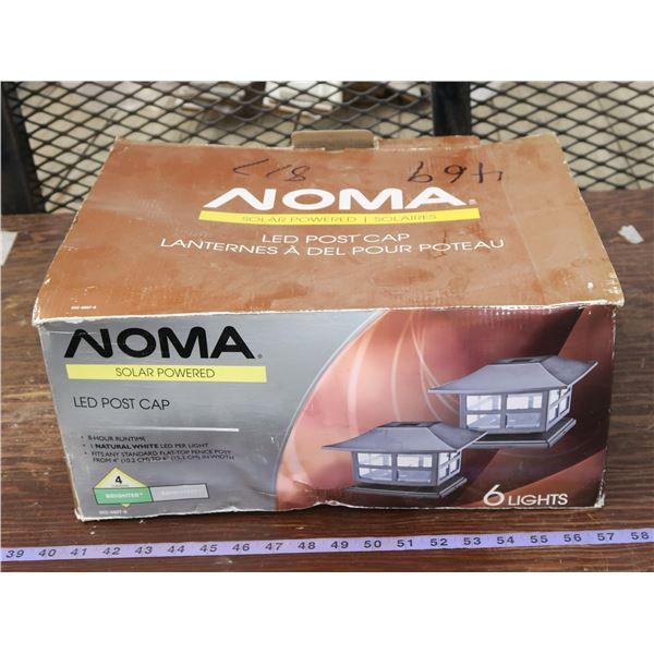 Box of Noma Solar Lights