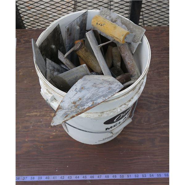 Lot of Masonry Trowels/Tools