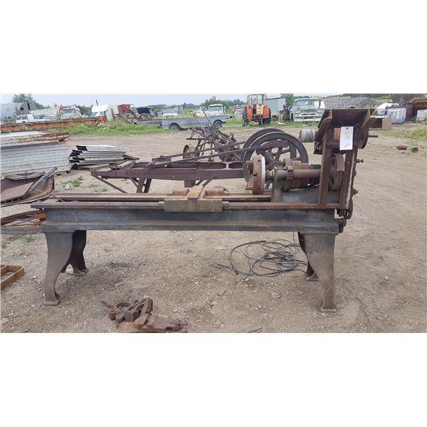 "Industrial Metal Lathe 69"" Bed"