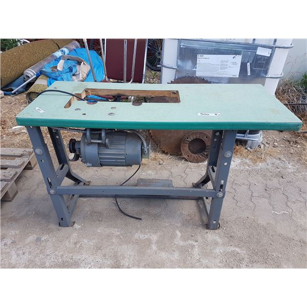 Commercial Sewing Machine Base & Motor Only