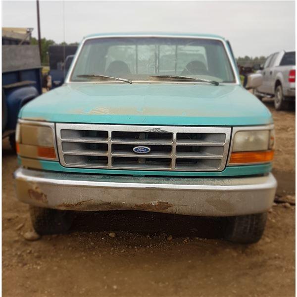 1994  Ford F150 Flare Side 4 Spd 4X4 1FTEX14N6RKA88325