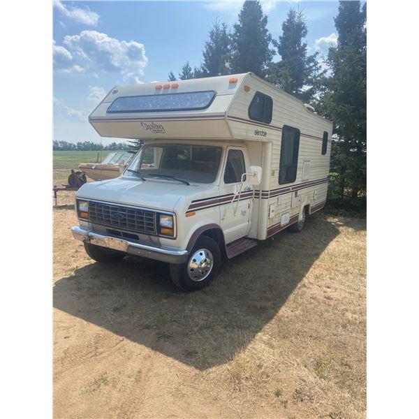 1986 E350 24 FT Ford Motor Home 1FDKE30L4GHA16845 *ITEM OFF SITE*