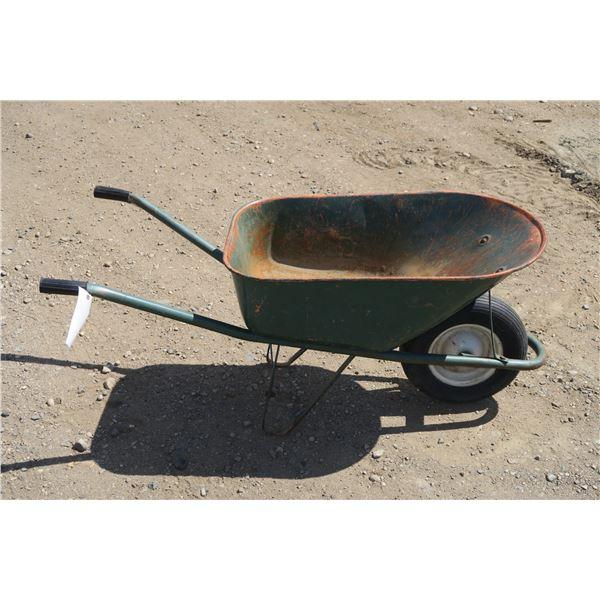 Rubber Tired Wheel Barrow