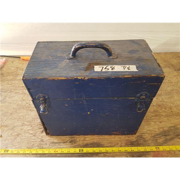 Wood Box & Misc. Tools