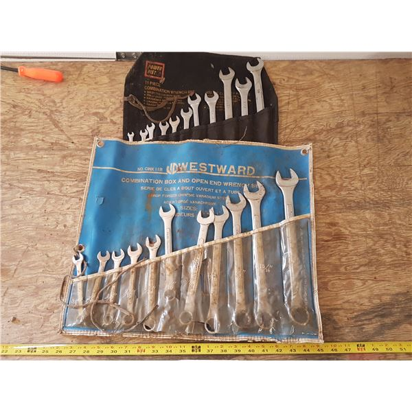 2 Wrench Sets / Rolls