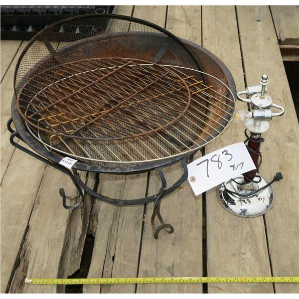 Fire Pit + Lamp