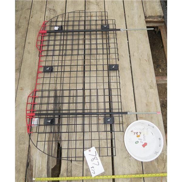 """Back Seat Dog Barrier + Dog Bowl 50""""×37"""""""