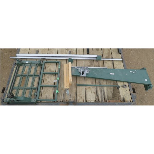 C×205 Swing Table for Table Saw (Includes Hardware)