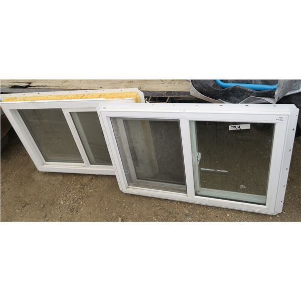 "2 35-1/4""×23-1/4"" Insulated Windows"