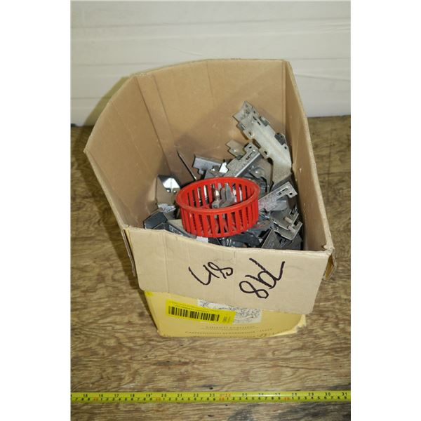 Box of Joist Hangers
