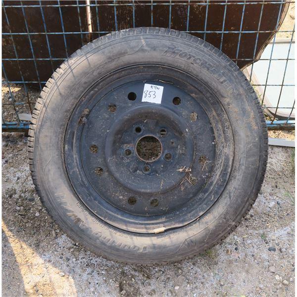 205/60/16 Motomaster Tire + Rim